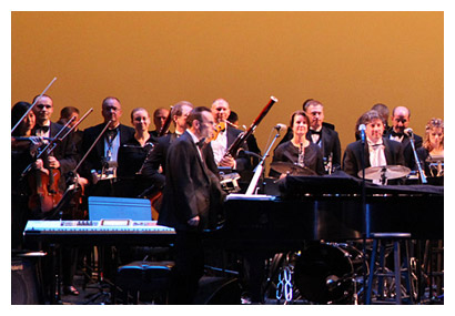 Photo of Part of the American Festival Pops Orchestra